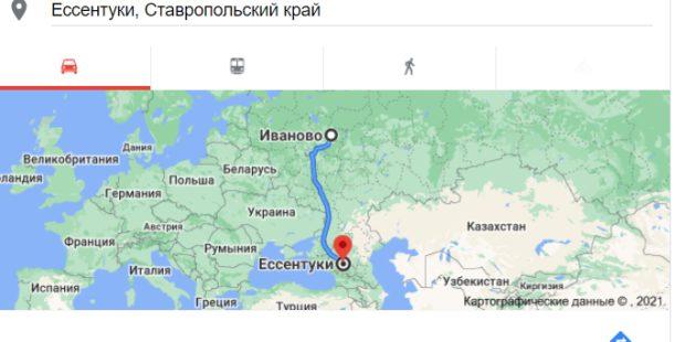 Ещё 5 человек доставили COVID-19 из Ессентуков в Ивановскую область
