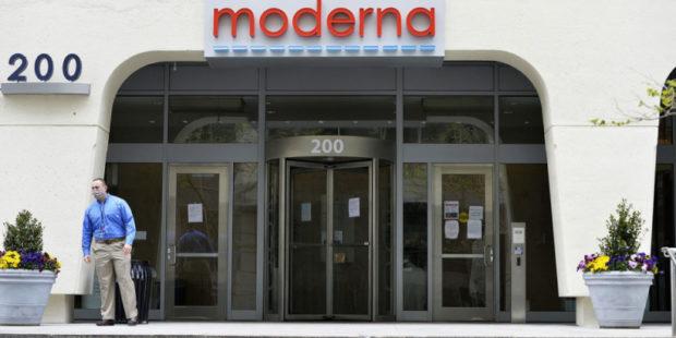 Компания Афеяна Moderna намерена поставить в Германию 80 млн доз вакцины от COVID