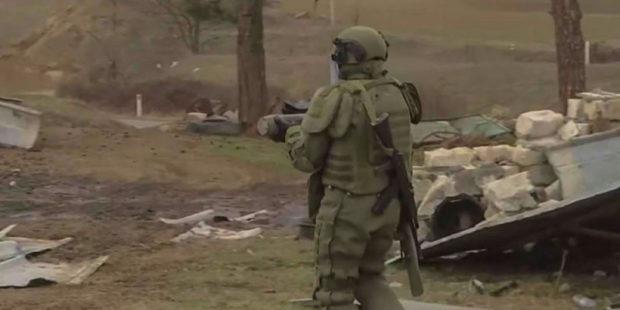 Миротворцы разминировали 2051 га земли в Нагорном Карабахе – Минобороны России