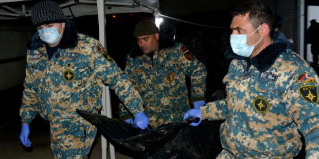 Обнаружены останки девяти погибших - Госслужба ЧС Карабаха