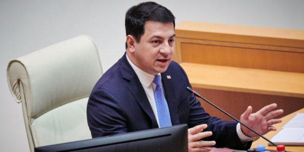 Спикер парламента Грузии Арчил Талаквадзе подал в отставку