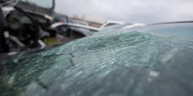 В Лори столкнулись три автомобиля, один человек скончался