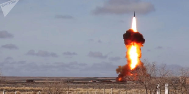 ВКС России испытали новую противоракету системы ПРО