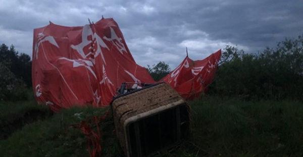 Смертельный фестиваль: на Украине разбились воздухоплаватели