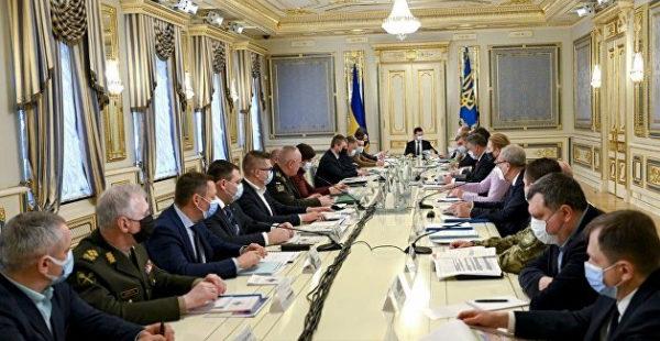 Стала известна тема следующего заседания СНБО Украины