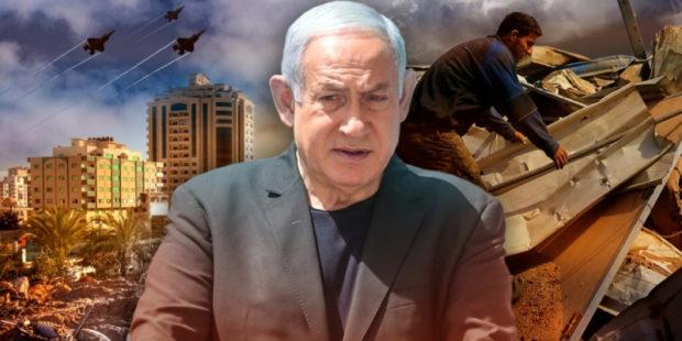 """Нетаньяху пообещал более тысячи ракетных ударов по ХАМАСу, указав на """"Железный купол"""""""