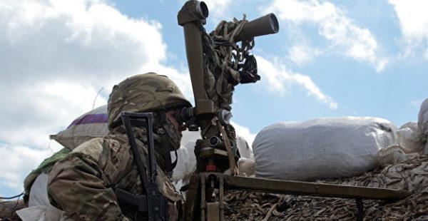 Украинские военные обстреляли окраину Горловки