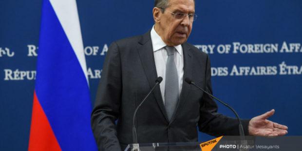 """Альтернативы договоренностям нет: Лавров об угрозах Алиева """"взять Зангезурский коридор"""""""