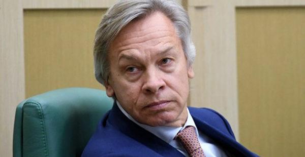«Совсем перебрал»: Пушков назвал слова Зеленского о месте Украины в Европе пустозвонством