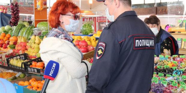 Более сотни протоколов составили сотрудники полиции в Иванове на безмасочников