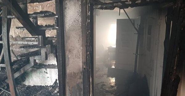 В Виннице вспыхнул пожар в офисном центре, есть погибший