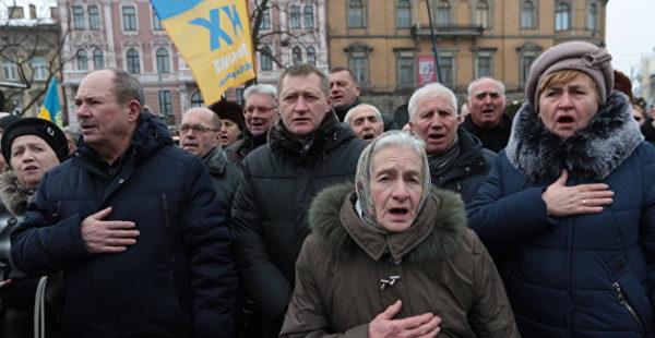 Украине не хватает денег на пенсии гражданам