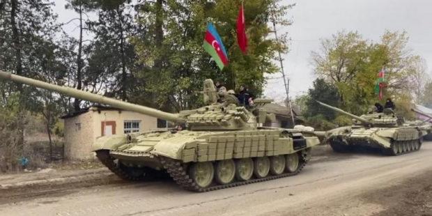 Армия Азербайджана пытается продвинуться вглубь территории Армении