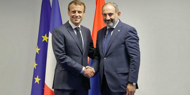Франция выступает за немедленный вывод азербайджанских войск из Армении – Макрон