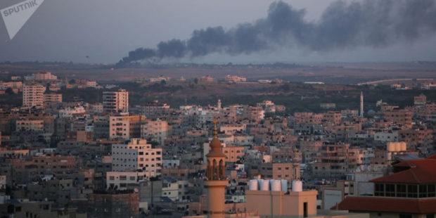 ХАМАС сообщает об атаке на приграничный израильский химзавод