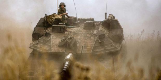 Израильские танки нанесли удар по объектам ХАМАС