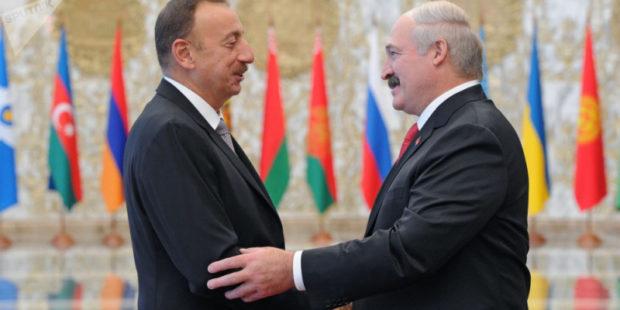 Лукашенко и Алиев обсудили по телефону ситуацию на армяно-азербайджанской границе