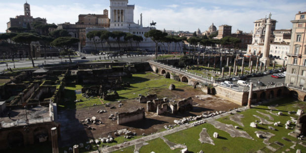 """""""Мы прослезились"""": археологи нашли мраморную голову римского императора Августа"""