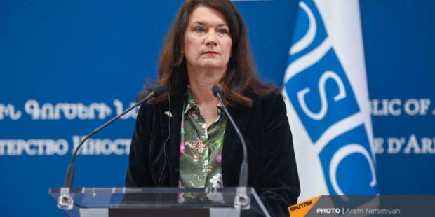 ОБСЕ готова содействовать переговорам Еревана и Баку – Анн Линде