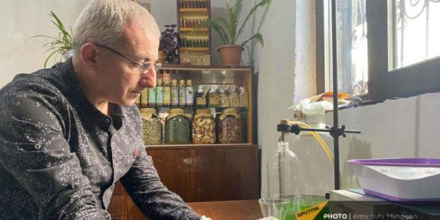 Психолог и химик Папикян пустил свои знания на мыло