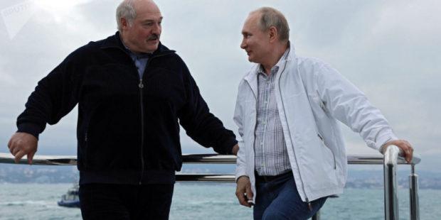 Путин и Лукашенко совершили морскую прогулку – видео
