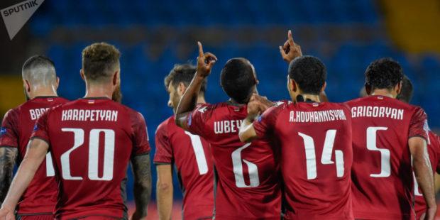 Сборная Армении провела первую тренировку в Загребе, участие капитана под вопросом