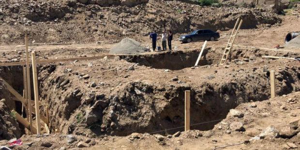 В приграничном селе Армении началось строительство домов для беженцев из Карабаха