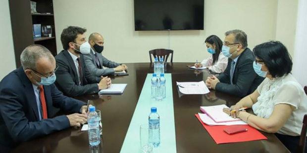 Замглавы МИД Армении обсудил парламентские выборы с миссией ОБСЕ
