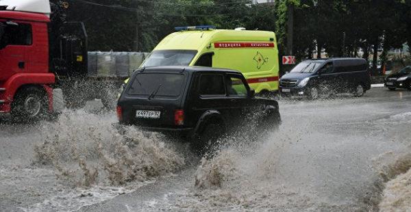Синоптик рассказала, когда циклон уйдет из Крыма