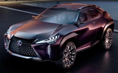 Модельный ряд Lexus 2021 года