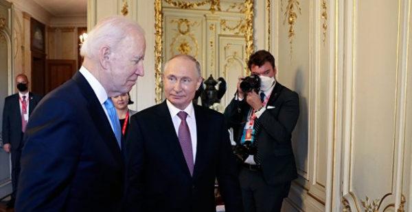Корниенко усмотрел «хороший сигнал» по итогам встречи Путина и Байдена