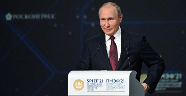 «Думают, что они все могут». Путин описал, как США уверенно идут по пути СССР