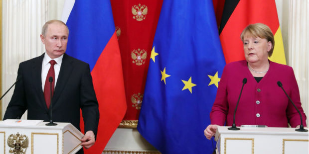 Новый формат диалога ЕС и России предложила Меркель – СМИ