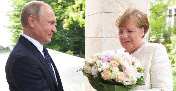 «Не знаю, кто вместо нее». Путин заявил, что будет скучать по Меркель