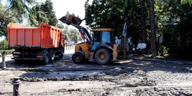Основные последствия потопа в Ялте ликвидируют до конца недели