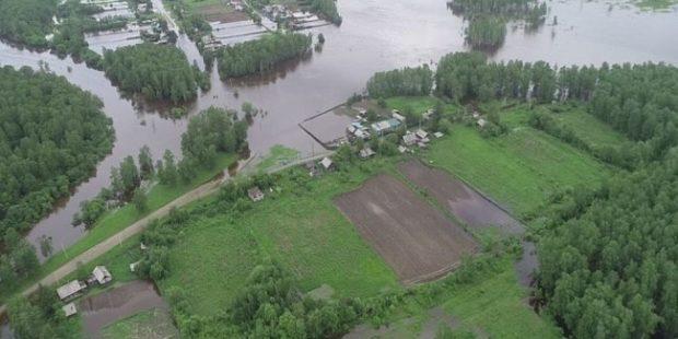 В двух районах Приамурья введен режим ЧС из-за паводков