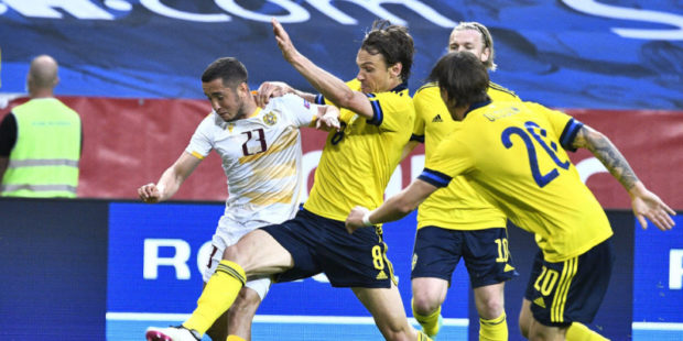Армения- Швеция футбольный матч. Проиграли, но не сдались