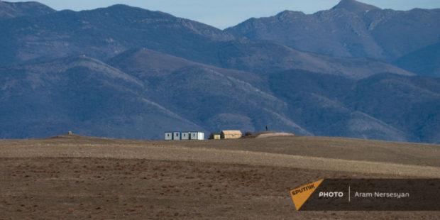 Азербайджанские ВС завершили большинство инженерных работ близ армянского села Тех