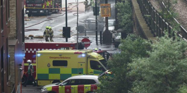 Взрыв случился в лондонском метро
