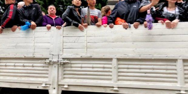В Ялте восемь человек пострадали в результате разгула стихии