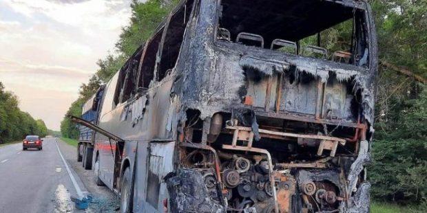 На Ставрополье проверят обстоятельства пожара в автобусе с детьми