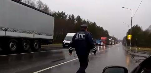 Из-за ситуации в Москве на въезде в Ивановскую область по трём направлениям выставили наряды ДПС