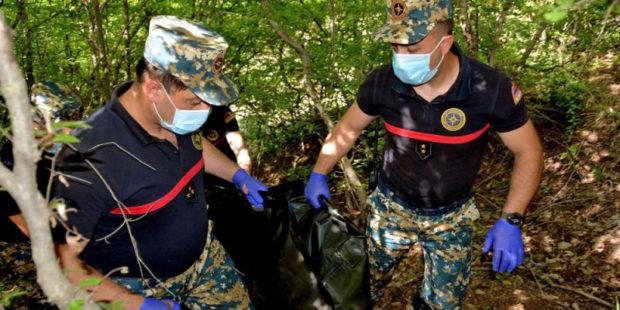 Поиски останков в Карабахе продолжаются в районе Варанды