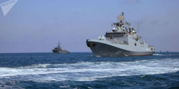 Россия проводит маневры в Средиземноморье на фоне старта учений НАТО в Черном море