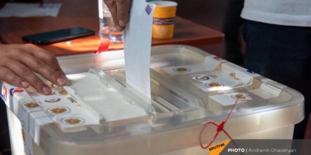 Три политические силы Армении потребовали признать выборы недействительными