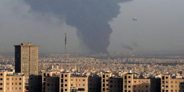 Взрыв прогремел на иранском сталелитейном заводе