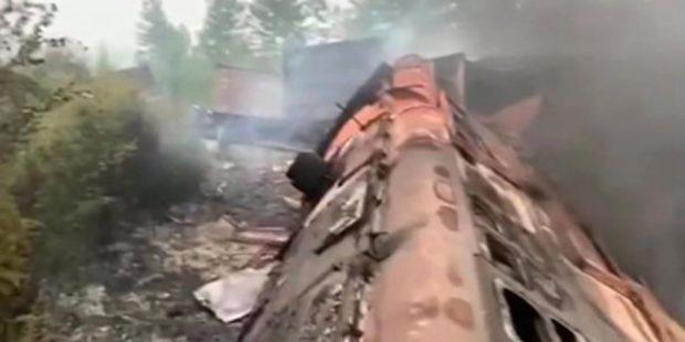 Число погибших при столкновении поездов в Приамурье выросло до четырех