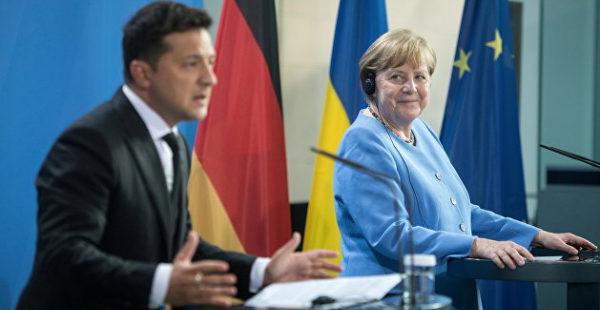 Рар: Меркель дала Зеленскому жесткий ответ по «Северному потоку – 2»