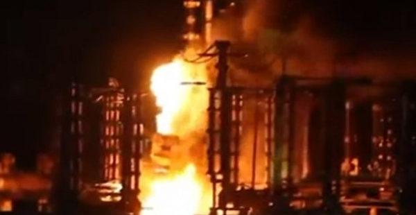 Авария: на электростанции Ахметова экстренно отключен энергоблок