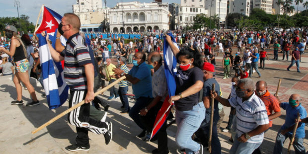 Антиправительственные протесты начались на Кубе: в МИД РФ отреагировали на митинги в стране